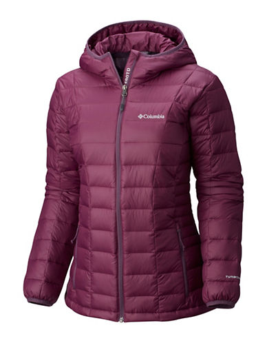 Columbia Voodoo Falls 590 TurboDown Jacket-PURPLE-X-Small
