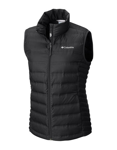 Columbia Lake 22 Quilted Vest-BLACK-Small
