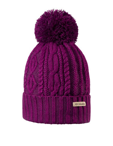 Columbia Blizzard Pass Tuque-PURPLE-One Size