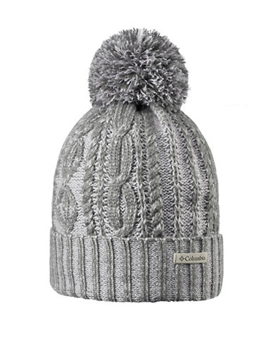 Columbia Blizzard Pass Tuque-GREY-One Size