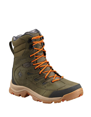 Columbia Gunnison Omni-Heat Lace-Up Boots-GREEN-10