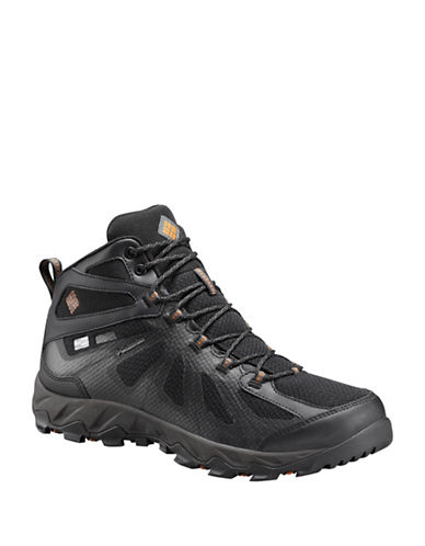 Columbia Peakfreak Waterproof Hiking Boots-BLACK-10