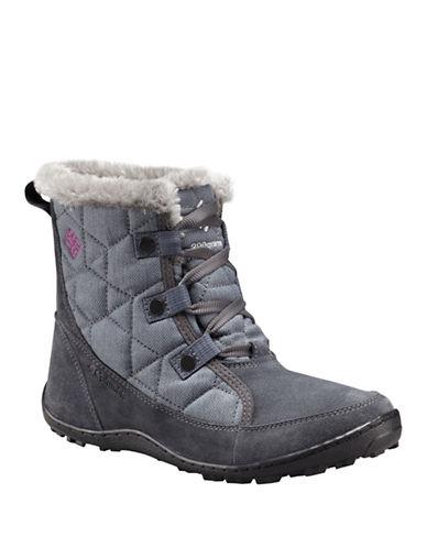 Columbia Minx Short Alta Boots-GRAPHITE-10