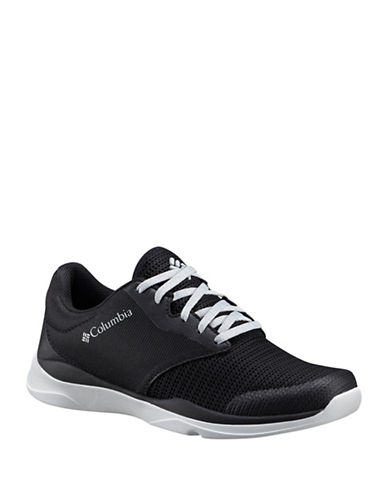 Columbia Womens Trail Lite Sneakers-BLACK-8