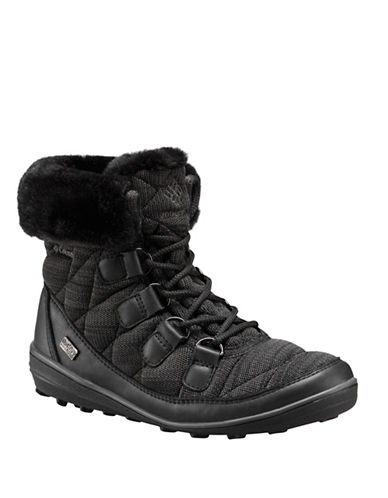 Columbia Heavenly Chimera Omni-Heat Shorty Winter Boots-BLACK-7