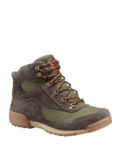 Columbia Classic Lace-Up Endicott Boots-GREEN-12