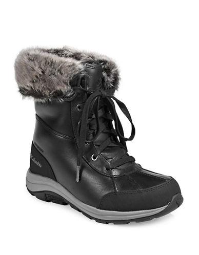Columbia Bangor Omni-Heat Michelin Boots-BLACK-6