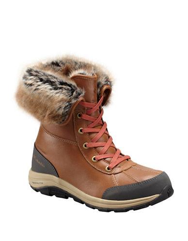 Columbia Bangor Faux-Fur Trimmed Boots-ELK-8.5