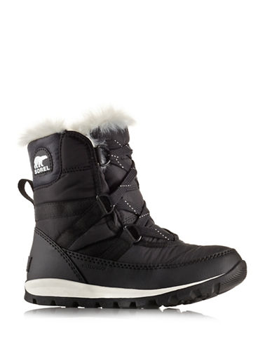 Sorel Whitney Short Boots-BLACK-4