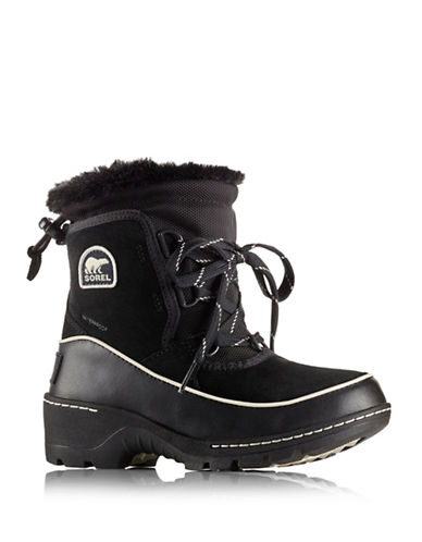 Sorel Tivoli III Winter Boots-BLACK-4
