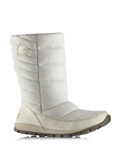 Sorel Whitney Quilted Boots-WHITE-7.5