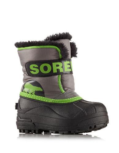 Sorel Snow Commander Winter Boots-GREY-8