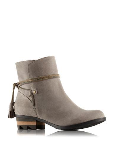 Sorel Farah Suede Ankle Boots-GREY-11