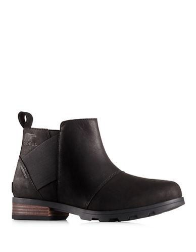 Sorel Emelie Chelsea Boots-BLACK-6.5