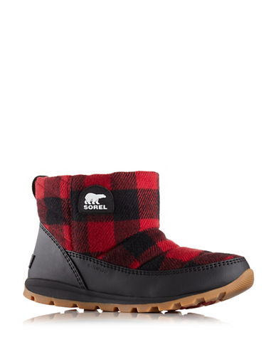 Sorel Whitney Camp Booties-RED-9