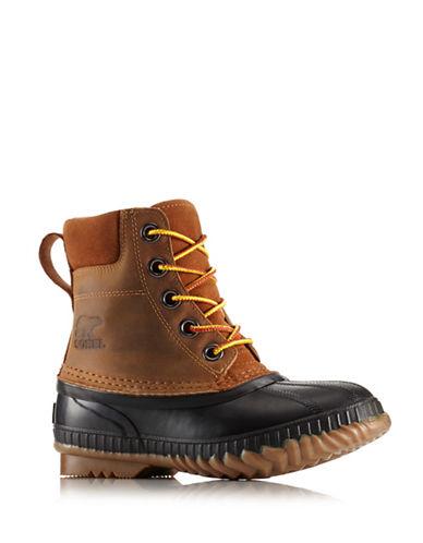 Sorel Cheyanne II Suede Boots-BROWN-3
