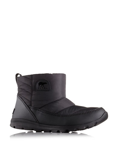 Sorel Whitney Camp Booties-BLACK-8.5