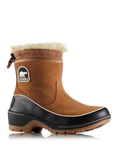 Sorel Tivoli III Pull-On Waterproof Boots-BROWN-7.5