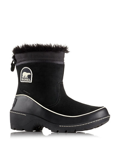 Sorel Tivoli III Pull-On Waterproof Boots-BLACK-6.5