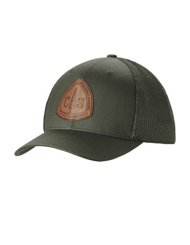 Columbia Rugged Outdoor Flexfit Mesh Hat-GREEN-Small/Medium