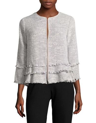 T Tahari Madeline Jacket-NATURAL-Medium 89093945_NATURAL_Medium