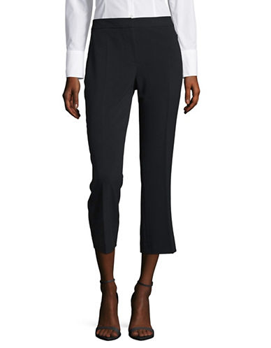 T Tahari Harper Stretch Crop Pants-BLUE-4