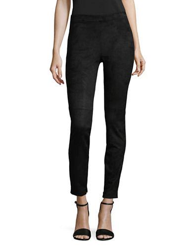 T Tahari Crop Roxanna Pants-BLACK-Medium