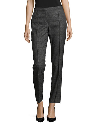 T Tahari Crop Karis Pants-BLACK-2