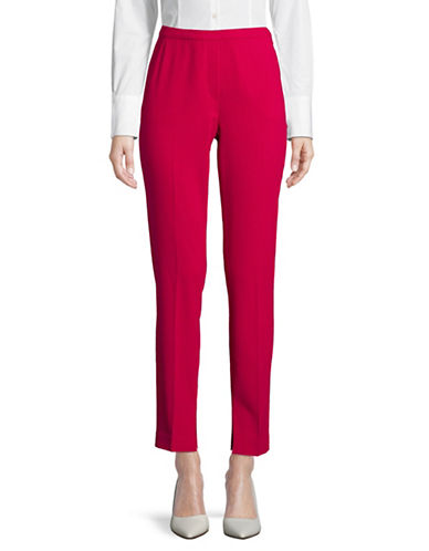 T Tahari Ivana Classic Pants-RED-12