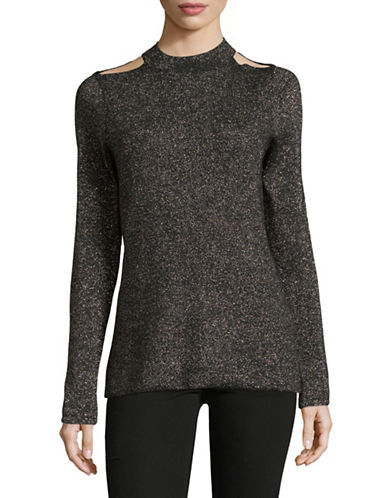 T Tahari Talulla Sweater-BLACK-Medium 89656322_BLACK_Medium