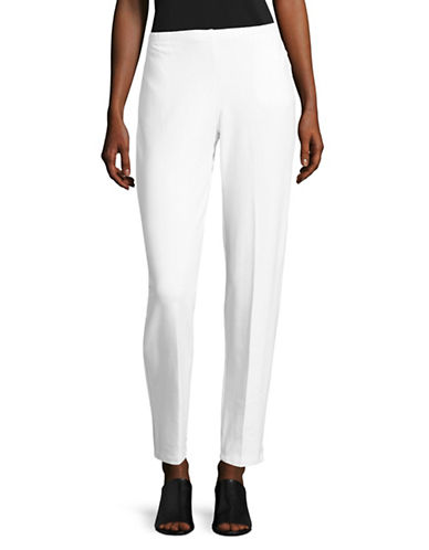 Ruby Rd Terry Pull-On Pants-WHITE-Medium 88912986_WHITE_Medium
