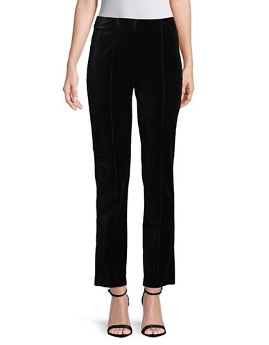 Ruby Rd Velvet Pants-BLACK-14