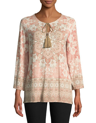 Ruby Rd Medallion Top-PINK-Small 89656747_PINK_Small
