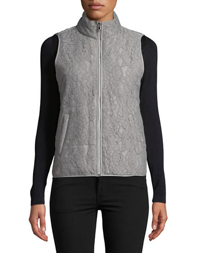 Ruby Rd Full-Zip Puffer Vest-GREY-12