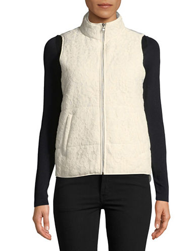 Ruby Rd Full-Zip Puffer Vest-WHITE-18