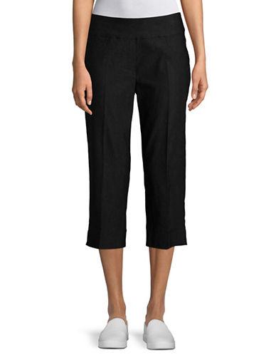 Ruby Rd Alt Millennium Capri Pants-BLACK-18