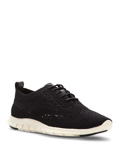 Cole Haan Zerogrand Stitchlite Oxfords-BLACK-7.5