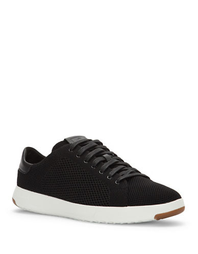 Cole Haan GrandPro Tennis Stitchlite Sneakers-BLACK-8.5