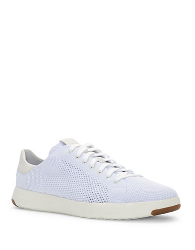 Cole Haan GrandPro Tennis Stitchlite Sneakers-WHITE-11