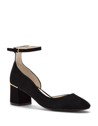 Cole Haan Grand Suede Pumps-BLACK-7.5