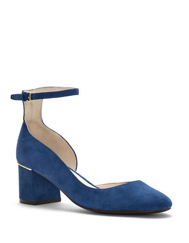 Cole Haan Grand Suede Pumps-BLUE-9