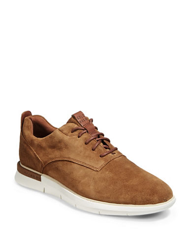 Cole Haan Grand Horizon Oxford Suede Sneakers-BOURBON-9