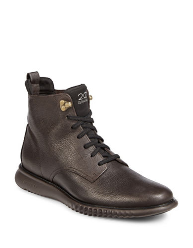 Cole Haan 2.0 Zerogrand Lace-Up Boots-BROWN-8