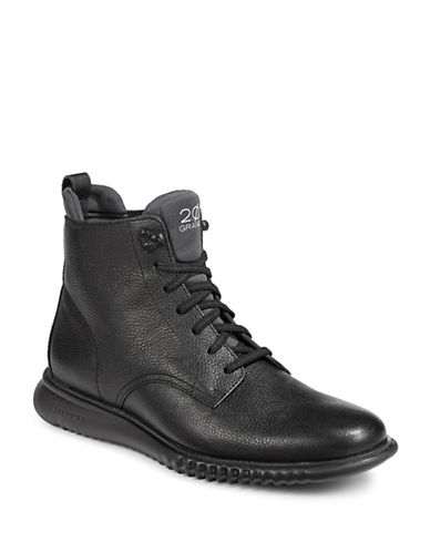 Cole Haan 2.0 Zerogrand Lace-Up Boots-BLACK-12