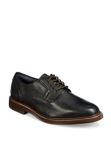 Cole Haan Adams Grand Plain Derby Shoes-BLACK-13