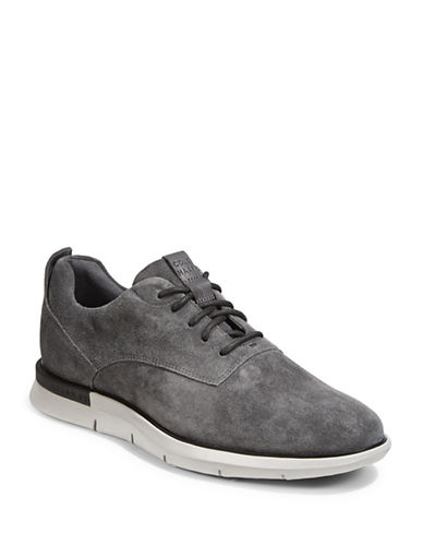 Cole Haan Grand Horizon Oxford Suede Sneakers-GREY-12