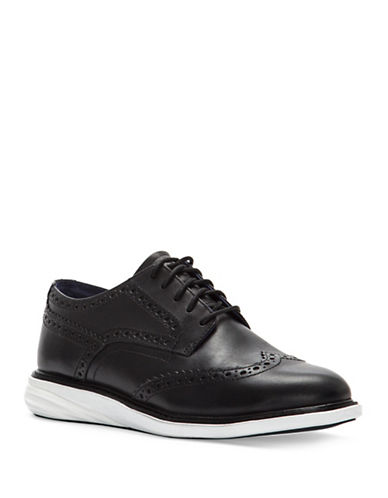 Cole Haan Grand Evolution Shortwing Oxford Sneakers-BLACK-6.5