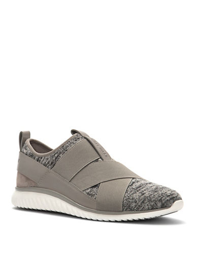 Cole Haan Studiogrand Knit Sneakers-GREY-8.5