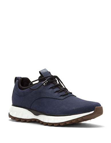 Cole Haan Grand Explore All-Terrain Waterproof Oxford Sneakers-BLUE-10.5
