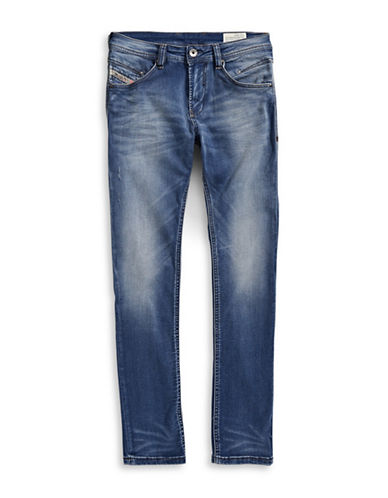 Diesel Faded Blue Jeans-BLUE-12